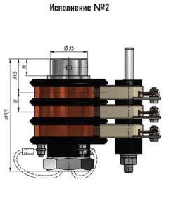 размеры токосъёмников для тали
