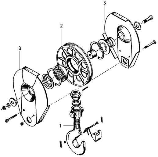 Характеристика крюковой подвески