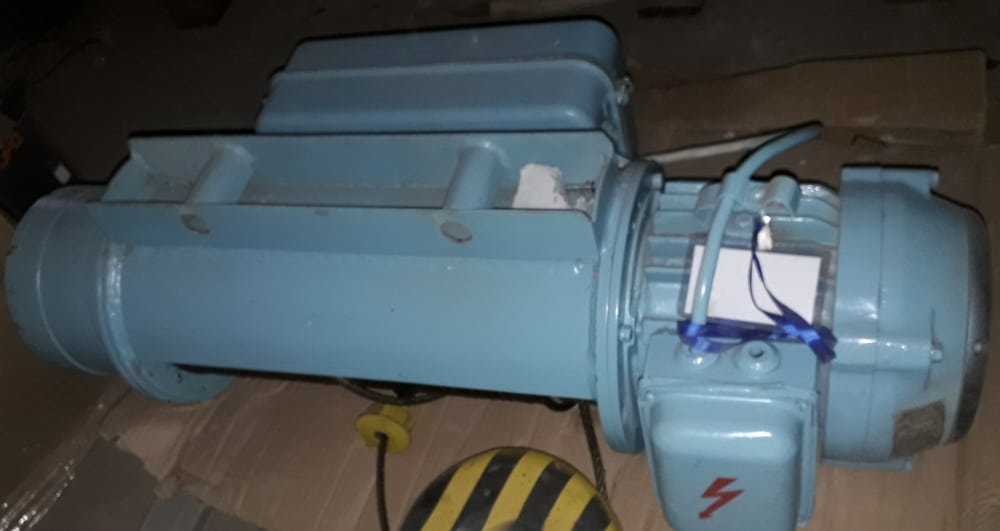 Электрический тельфер канатный г/п 1000 кг