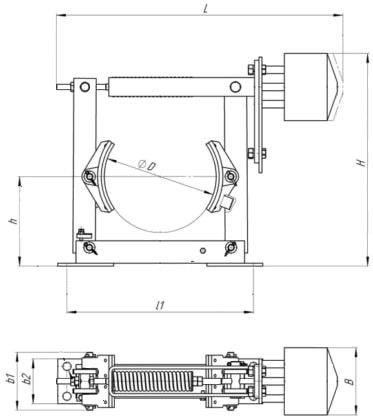 Тормоз крановый ТКП-200