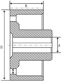 Тормозной шкив