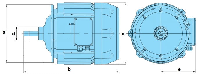 электродвигатель для тельфера