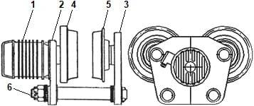 Тележка передвижения тельфера